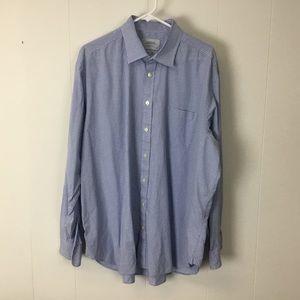 Charles Tyrwhitt classic fit dress shirt 18 37
